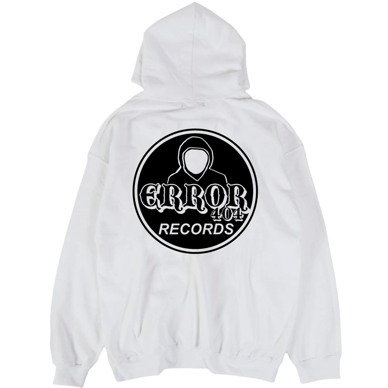 ERROR404 RECORDS HOODIE