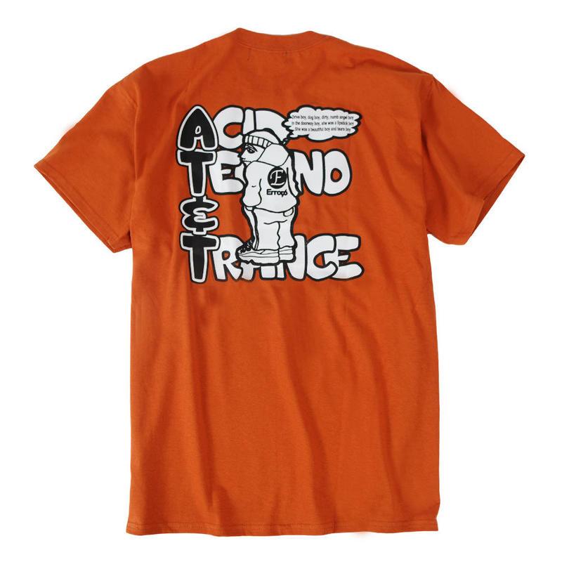 AT&T TEE / ORANGE BROWN