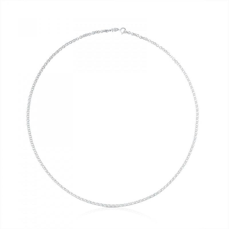 チェーンネックレスTOUS Chainsロロ シルバー/ 60cm(511900220)