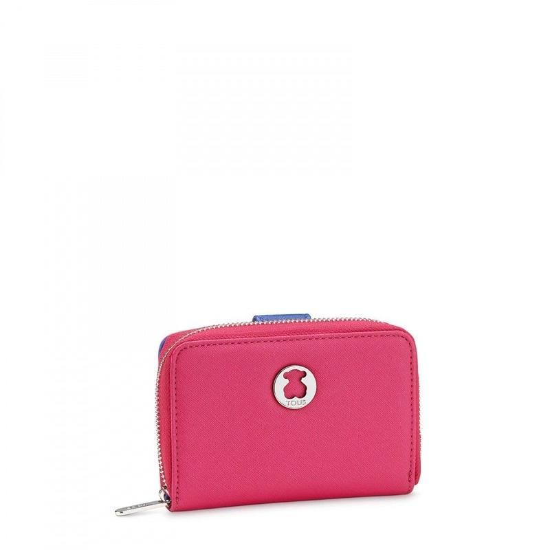 財布Dubai Saffiano ピンク / 合成皮革 / 2つ折り(395970310)