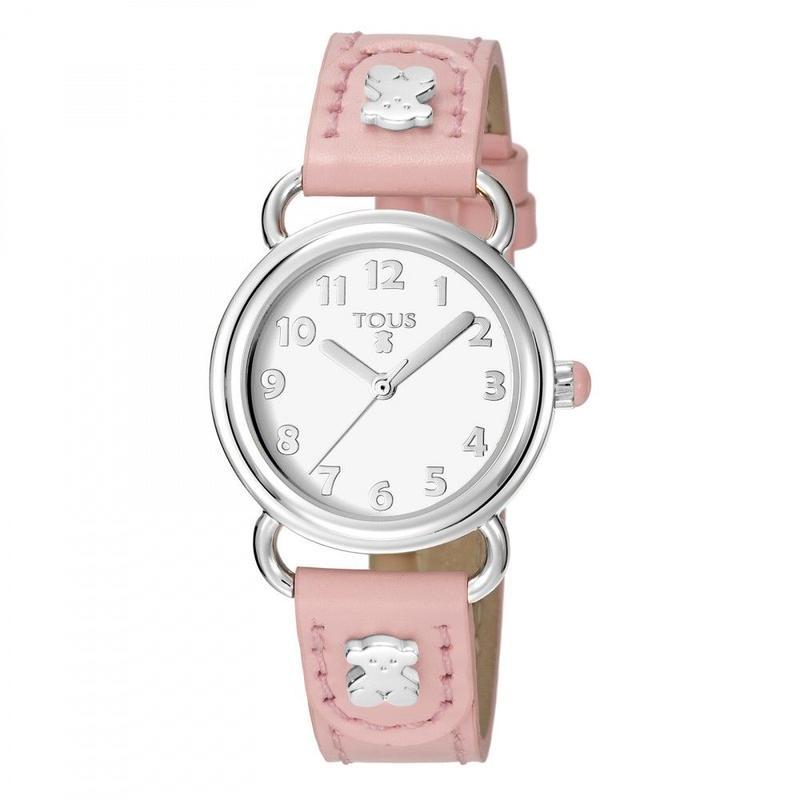 腕時計 Baby Bearピンク ベルト:牛革 / ステンレススチール / 28mm(500350180)