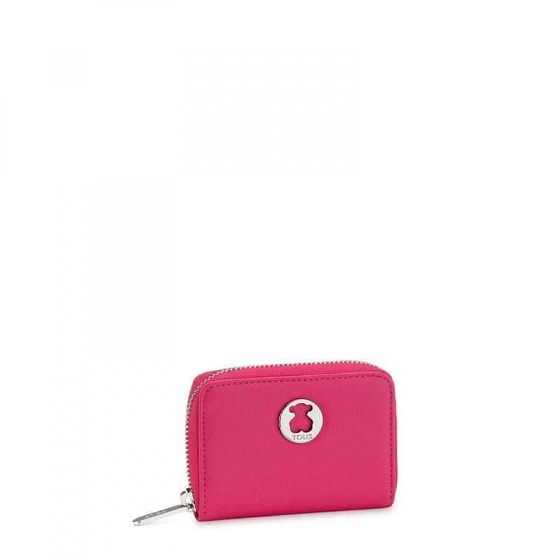 コインパース Dubai Saffiano ピンク / 合成皮革 / コインカード併用可 / 小型(395970307)