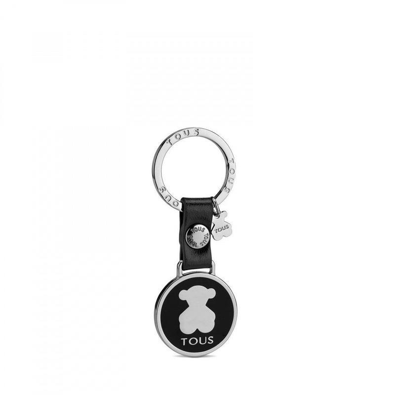 バッグチャーム・キーリング Circle Bear ブラック(395960148)
