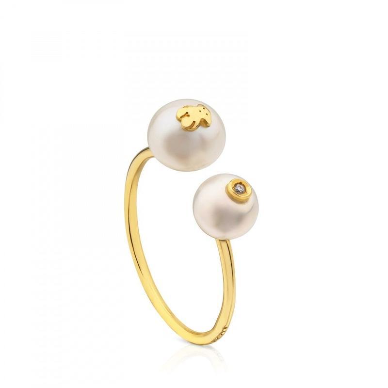 ゴールドのリング Icon Pearl(612575010)