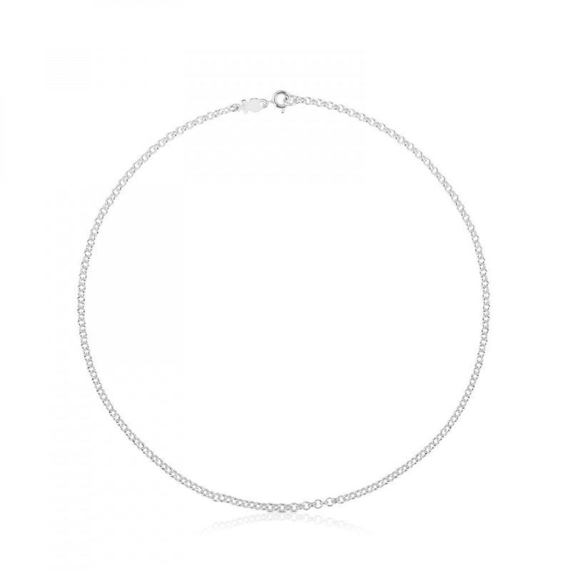 チェーンネックレスTOUS Chainsロロ シルバー/ 40cm(511900520)