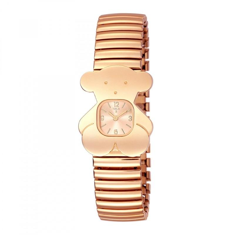 腕時計TOUSY ベルト:ステンレススチール(伸縮性) / ピンクゴールドコーティング (500350170)