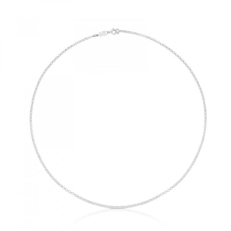 チェーンネックレスTOUS Chains   ロロチェーン シルバー/ 45cm(611900520)
