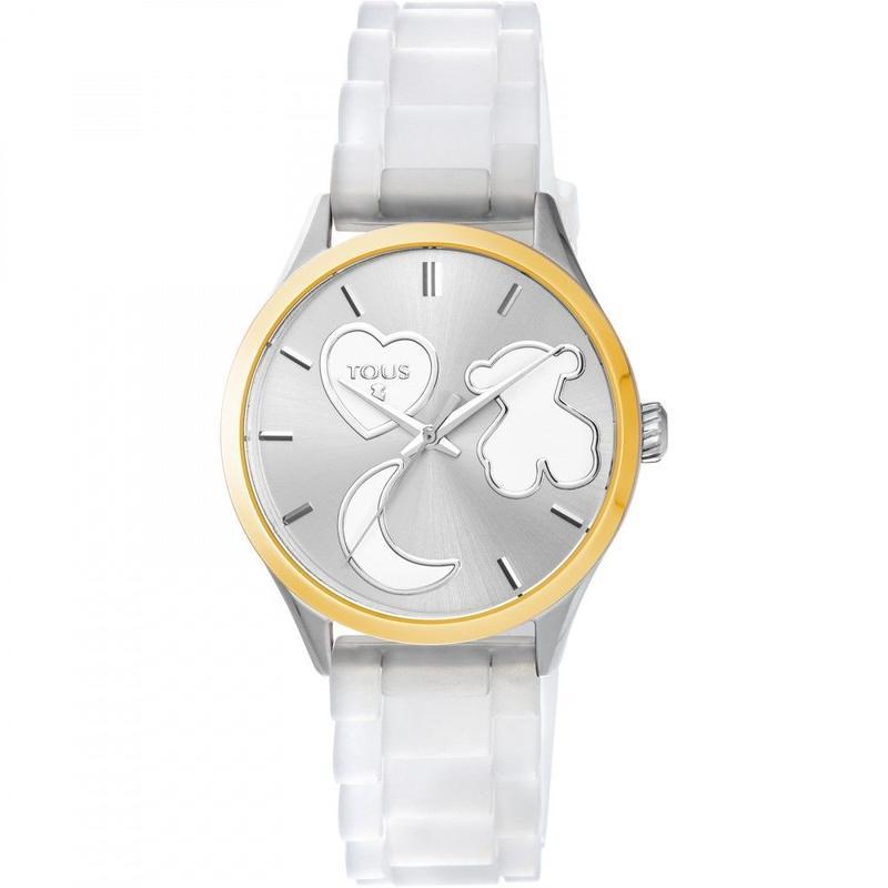 腕時計 Sweet Powerホワイト ベルト:シリコン / ステンレススチール / 37mm (800350750)