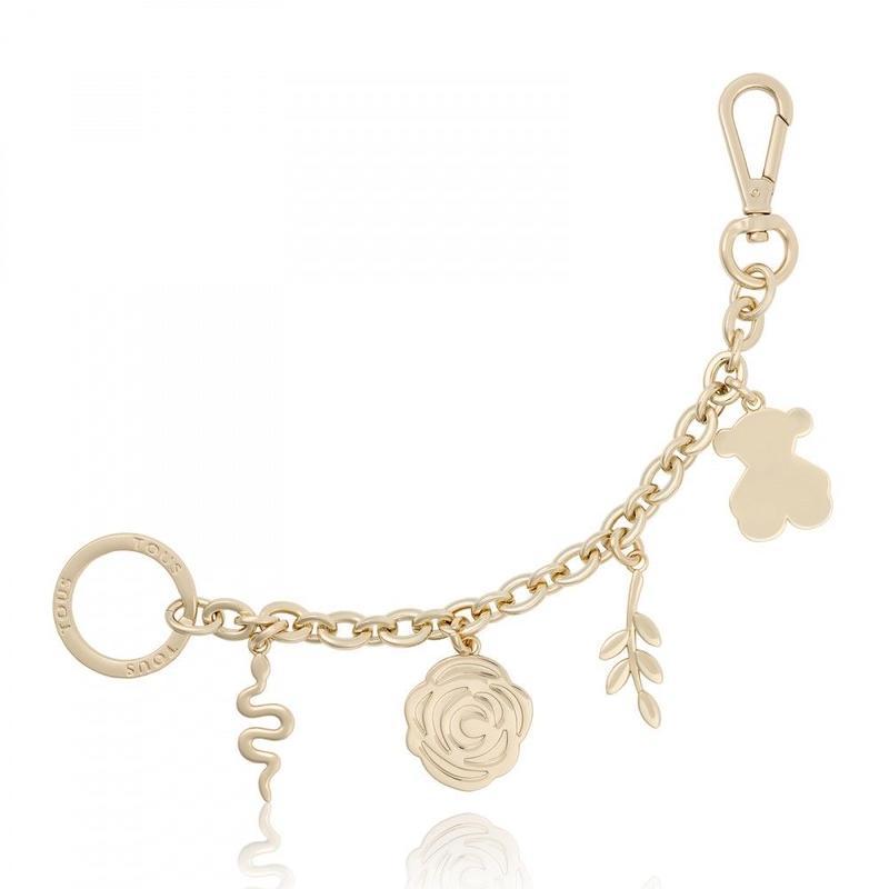キーホルダー Real Jewel Chain ゴールド(895970151)