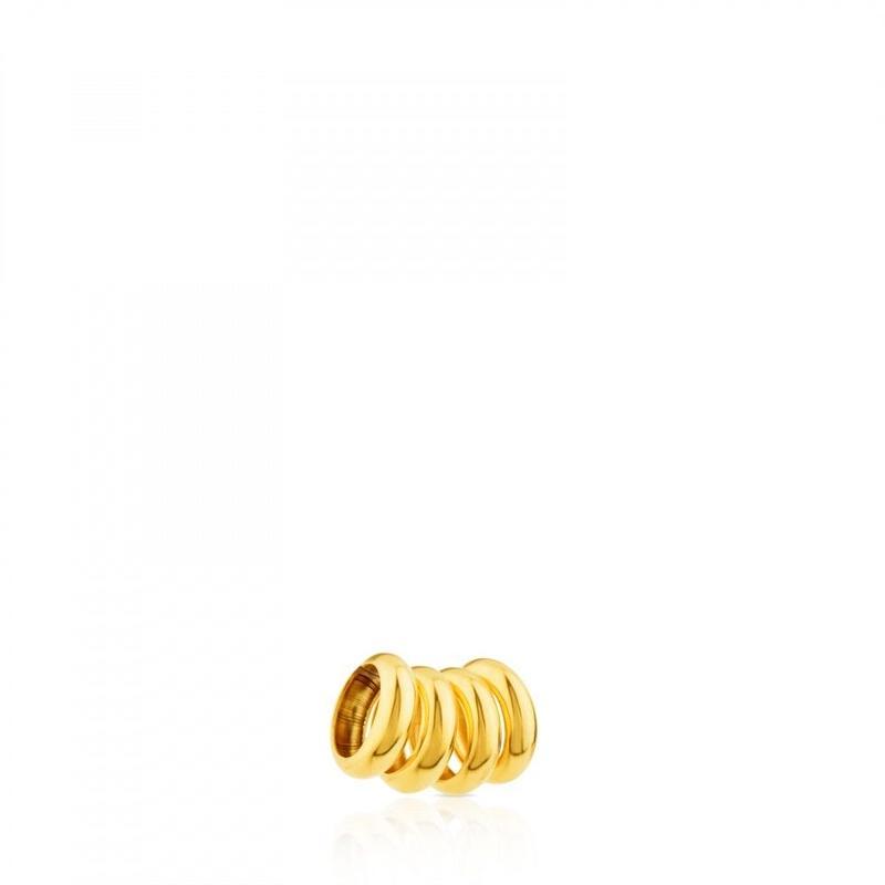 ゴールドのHold ペンダントトップ用 TOUSリング4個セット(411806000)