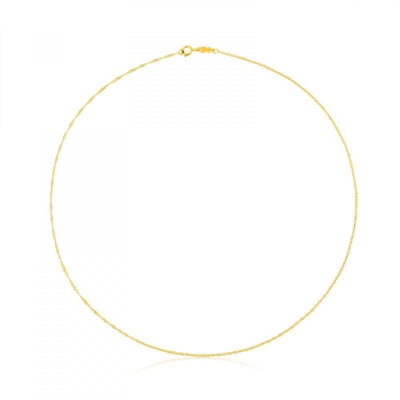 チェーンネックレスTOUS Chains 18金ゴールド / 40cm(614001880)