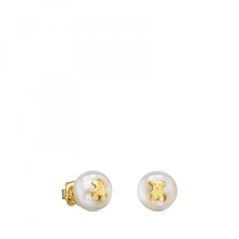 ゴールドピアス TOUS Pearls(411003000)
