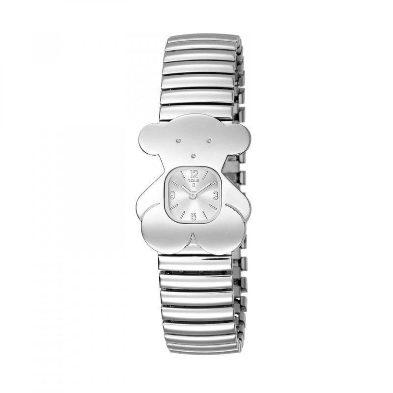 腕時計TOUSY ベルト:ステンレススチール(伸縮性) / ステンレススチール(300350500)