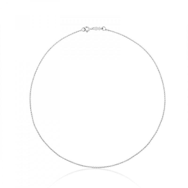 チェーンネックレスTOUS Chainsボール シルバー / 1.4mm / 40cm(711901270)