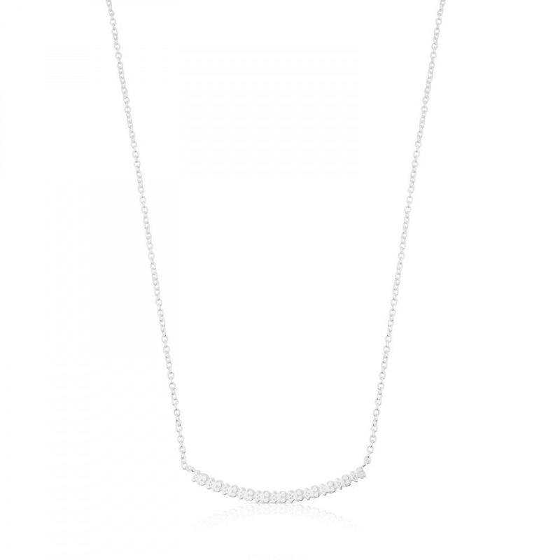 シルバーのネックレス Straight(512722510)