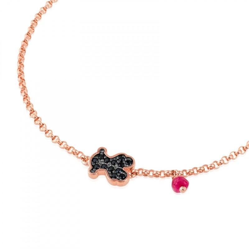 ヴェルメイユシルバー・ローズと宝石のブレスレット Motif(314931530)