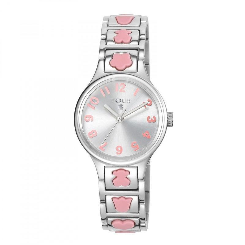 腕時計 Dollsピンク ベルト:シリコン・スチール / ステンレススチール/ 28mm(300350550)