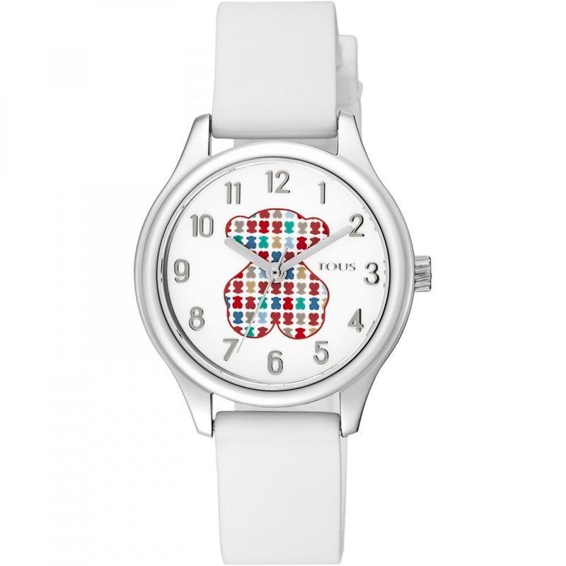 腕時計Tartan Kidsホワイト ベルト:シリコンバンド / 30mm  (900350235)