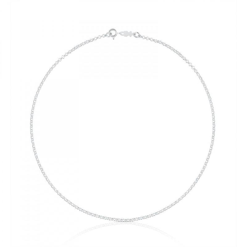 チェーンネックレスTOUS Chains シルバー/ 40cm(611900521)