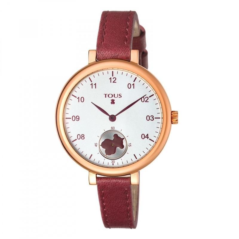 腕時計 Spinレッド ベルト:牛革 / ピンクゴールドコーティング / 35mm(600350440)