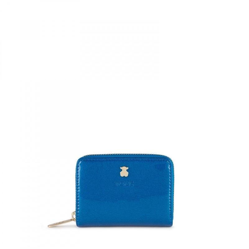 コインパースDorp ブルー / 合成皮革 / カード・コイン兼用 / 小型(995960390)