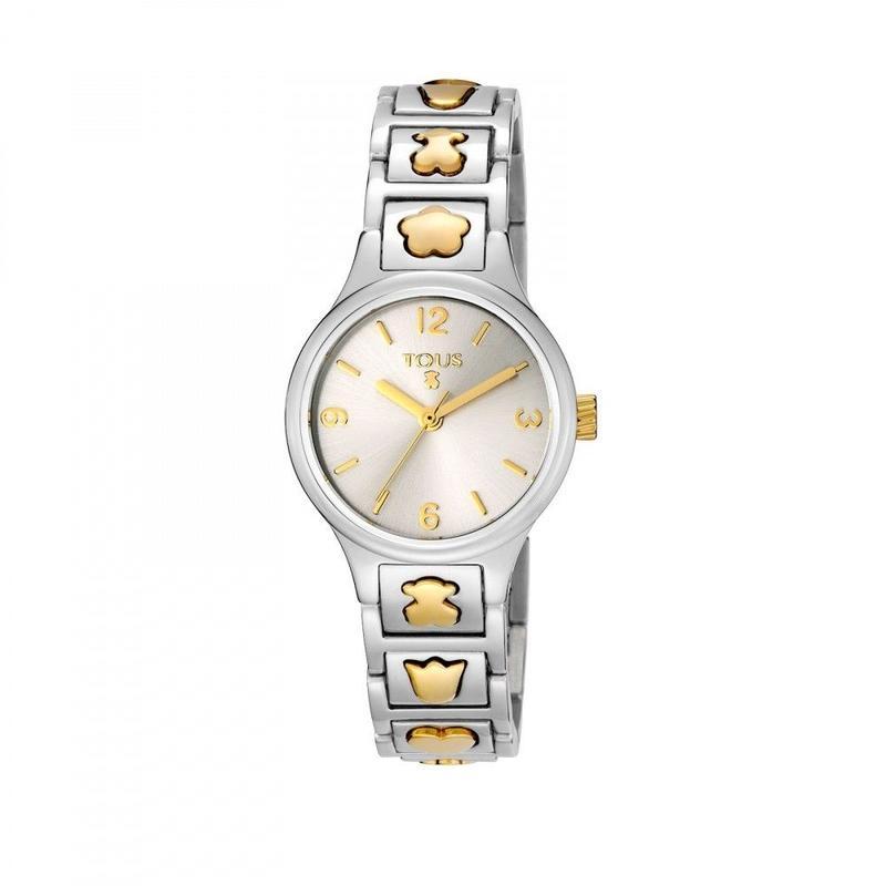 ゴールドのステンレス / IPバイカラー腕時計 Dolls(400350940)