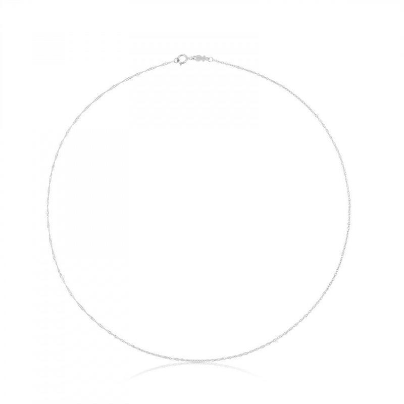 チェーンネックレスTOUS Chains 18金ホワイトゴールド / 40cm(614001890)