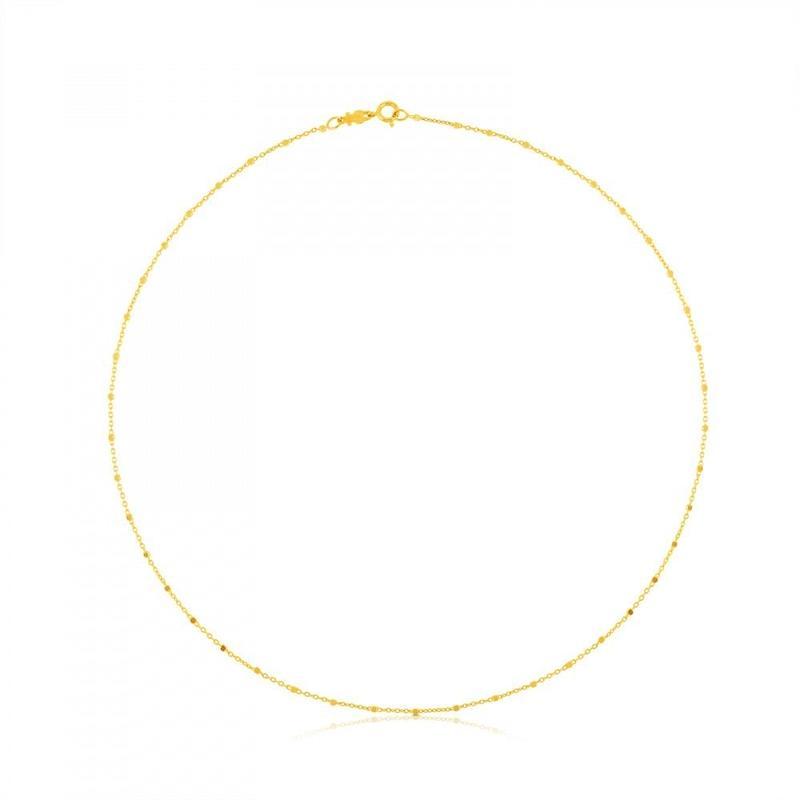 チェーンネックレス TOUS Chains 18金ゴールド / 40cm (514002320)