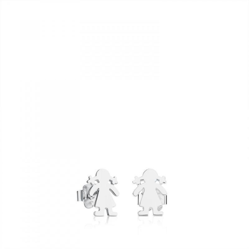 ピアス Sweet Dolls女の子  シルバー / 10mm(411140294)