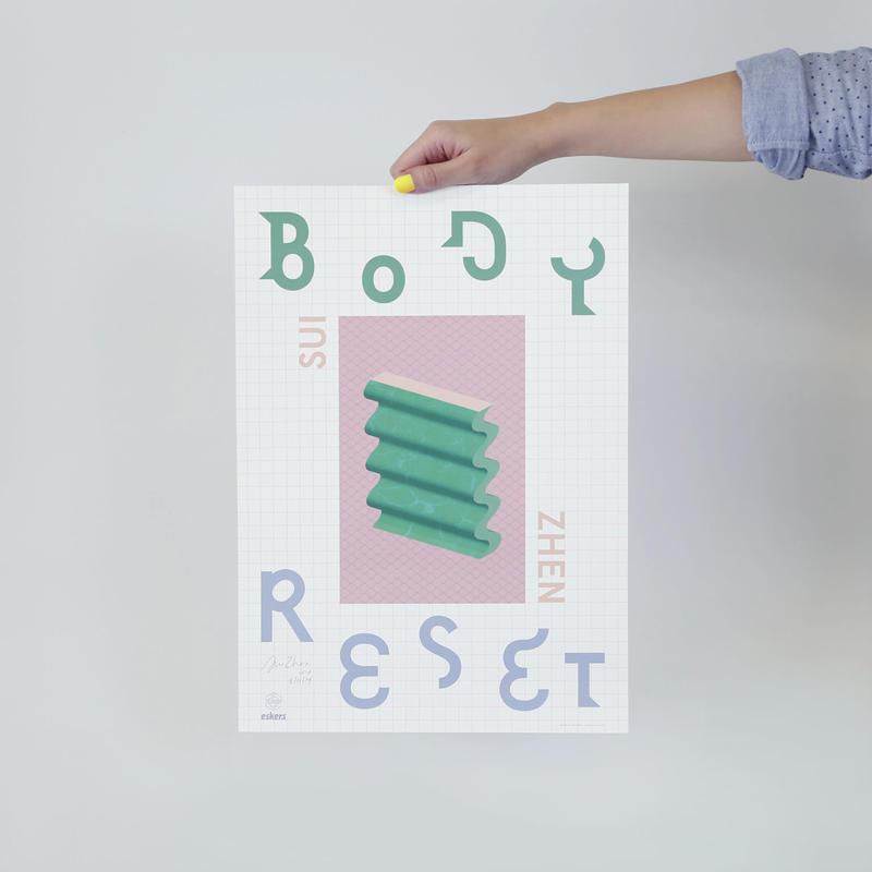 Body Reset poster by Mogollon