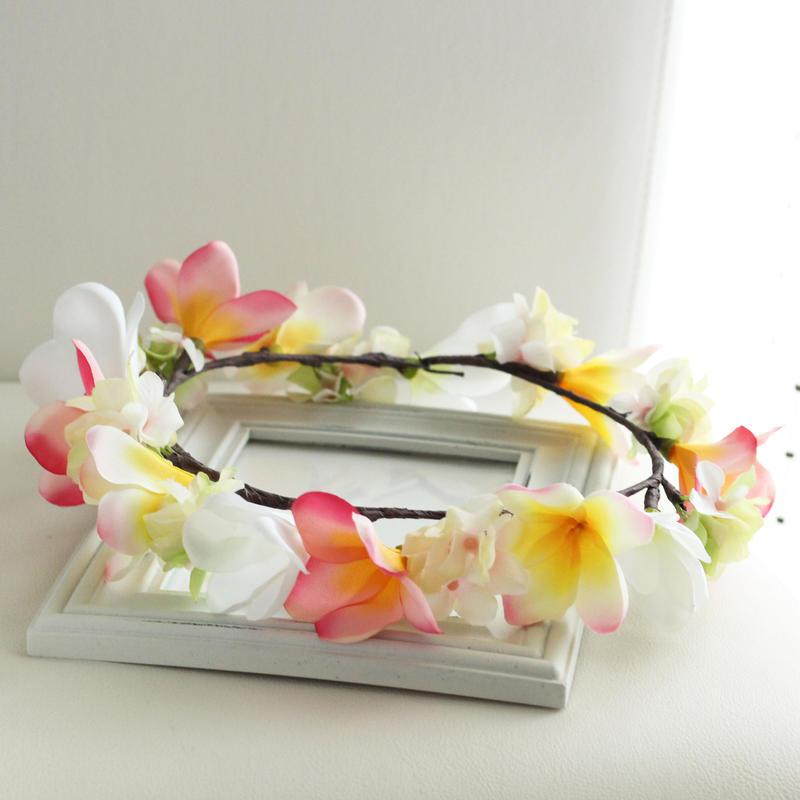 花かんむり:プルメリア(Mサイズ)アーティフィシャル