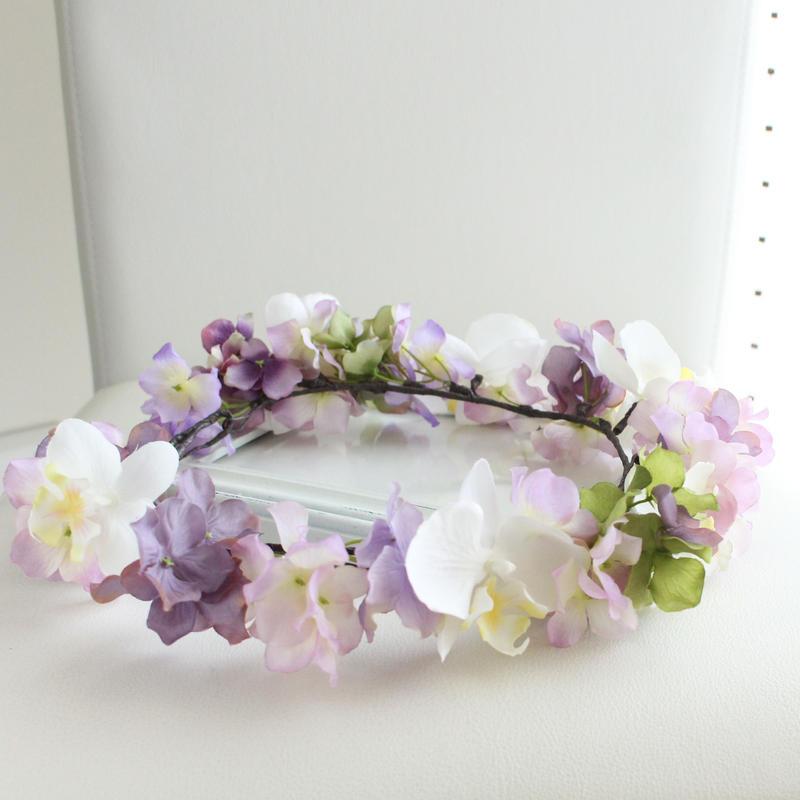 〔オーダーメイド〕花かんむり(Mサイズ)アーティフィシャル
