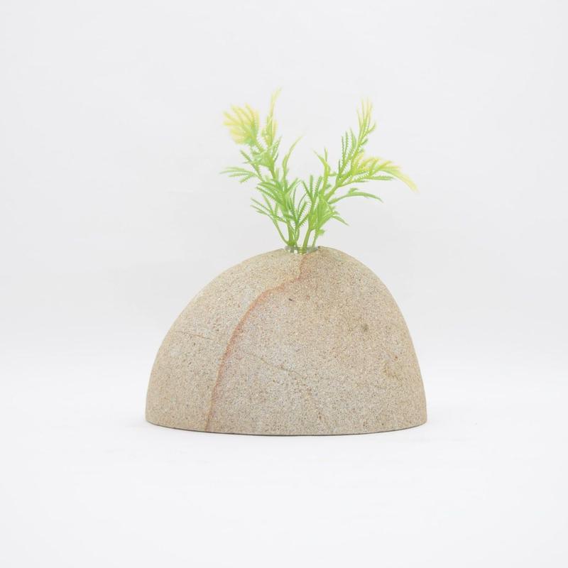 Real Stone Vase 021