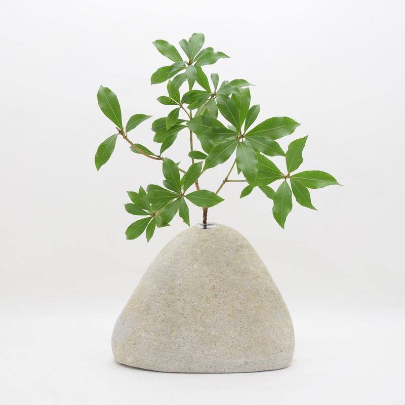 Real Stone Vase 004
