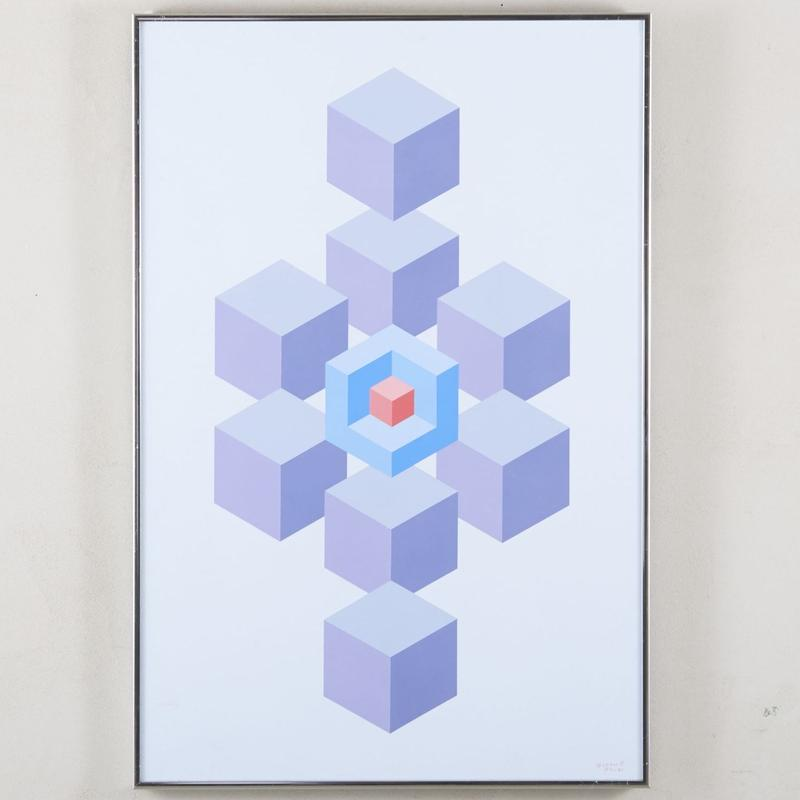 Garth Dill geometry Painting 115