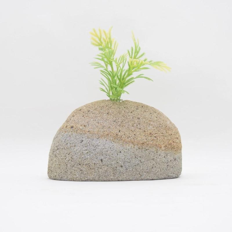 Real Stone Vase 025