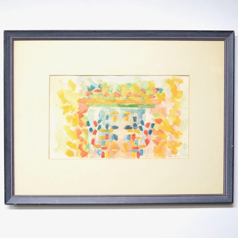hand drawn watercolor painting 002