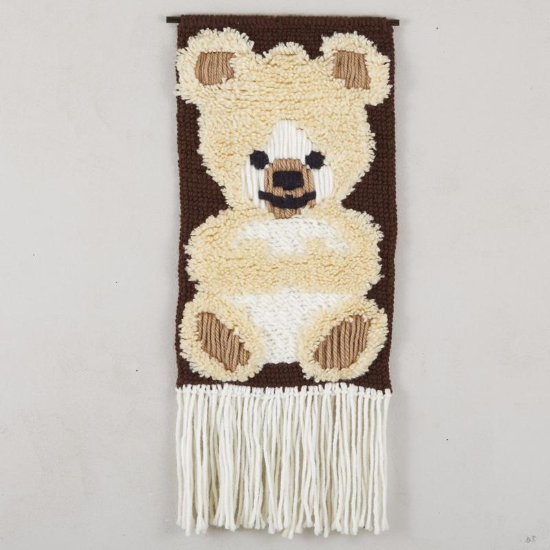 vintage wall rag bear 100