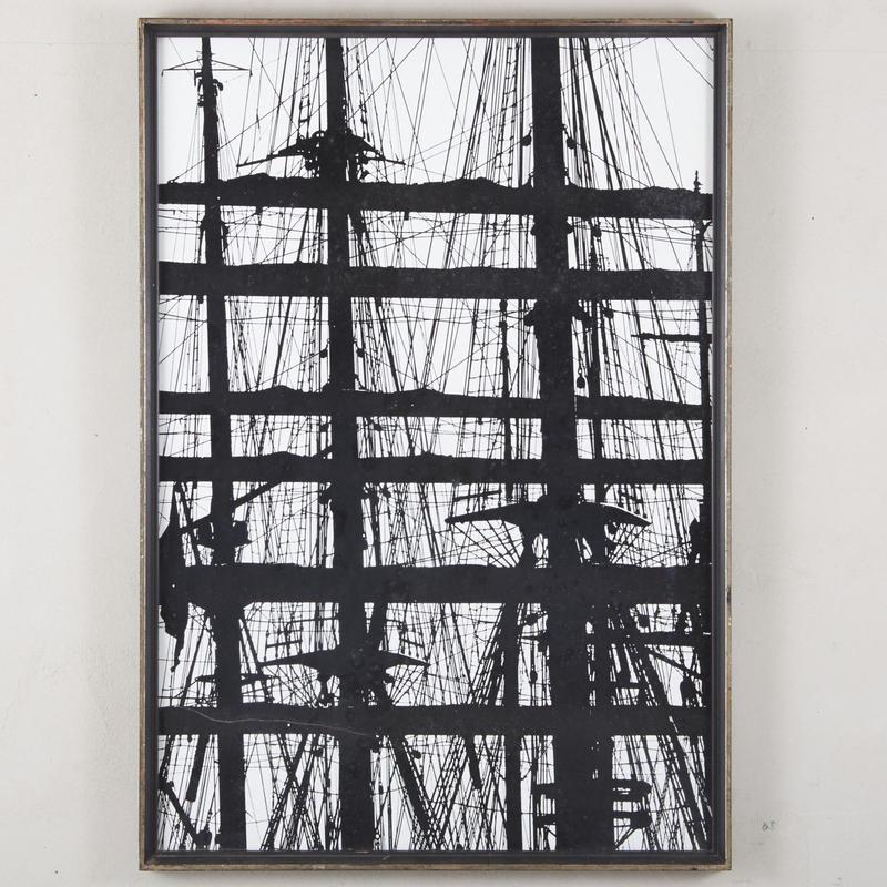 Silk screen art print 132
