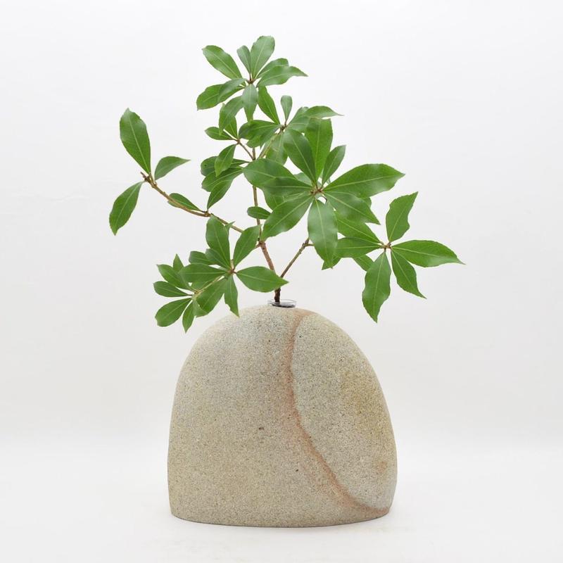 Real Stone Vase 007