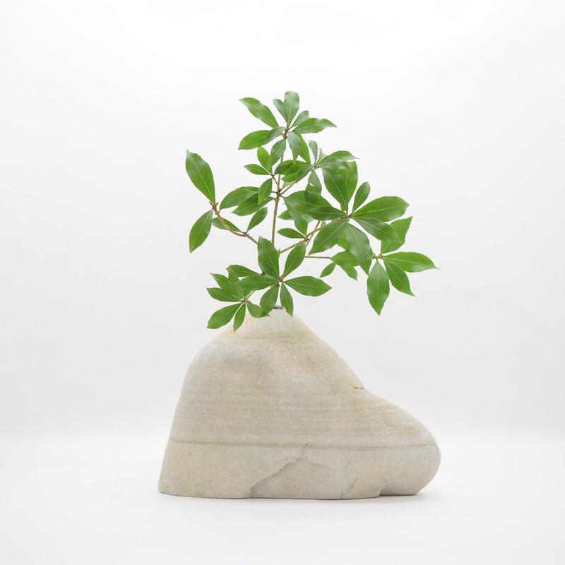 Real Stone Vase 003