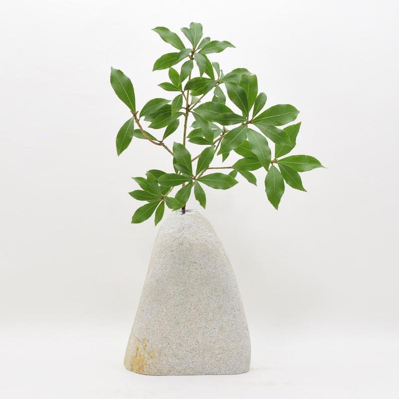 Real Stone Vase 011
