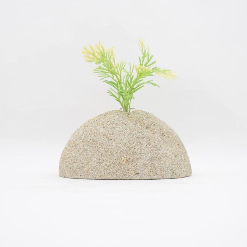 Real Stone Vase 019