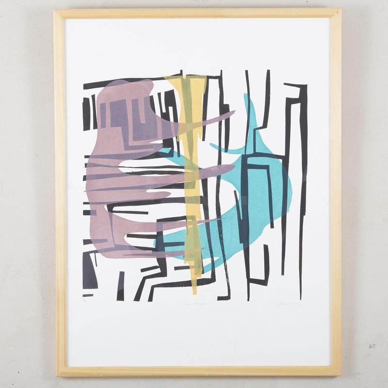 Vintage silkscreen art 122
