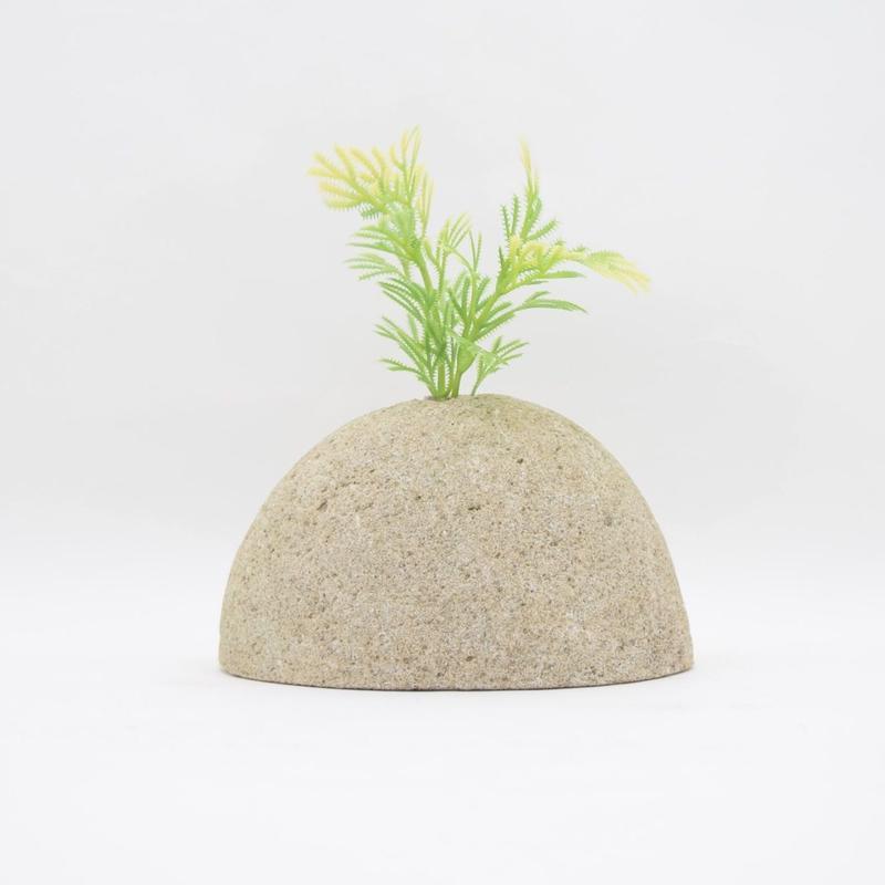 Real Stone Vase 024