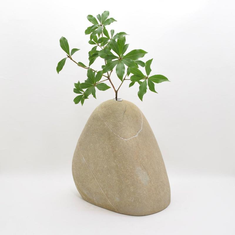 Real Stone Vase 002