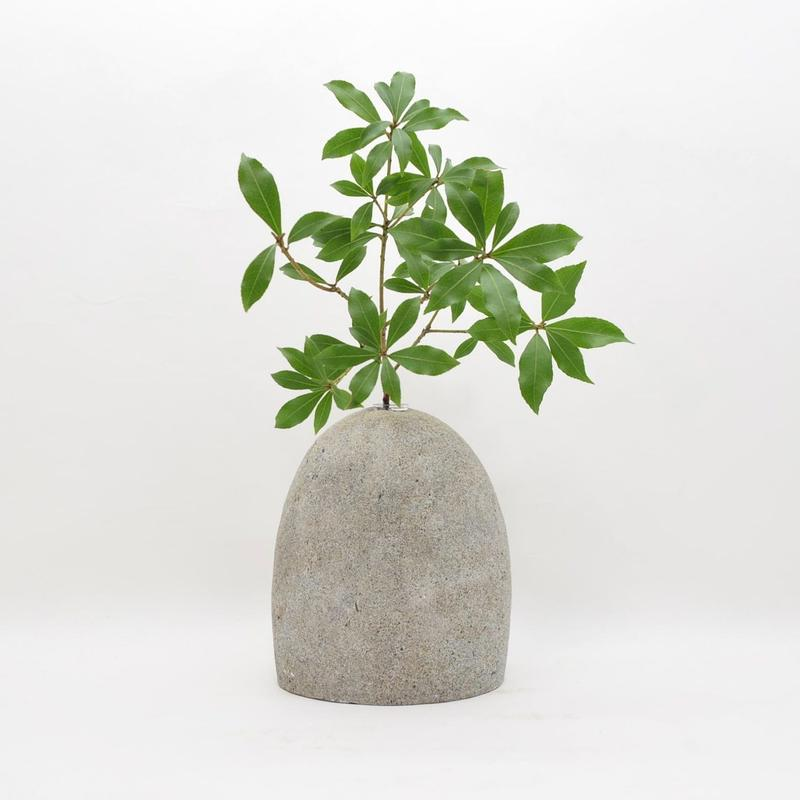 Real Stone Vase 010