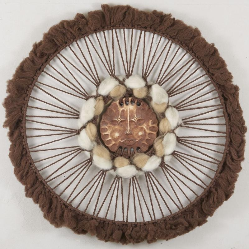 woven yarn art   093