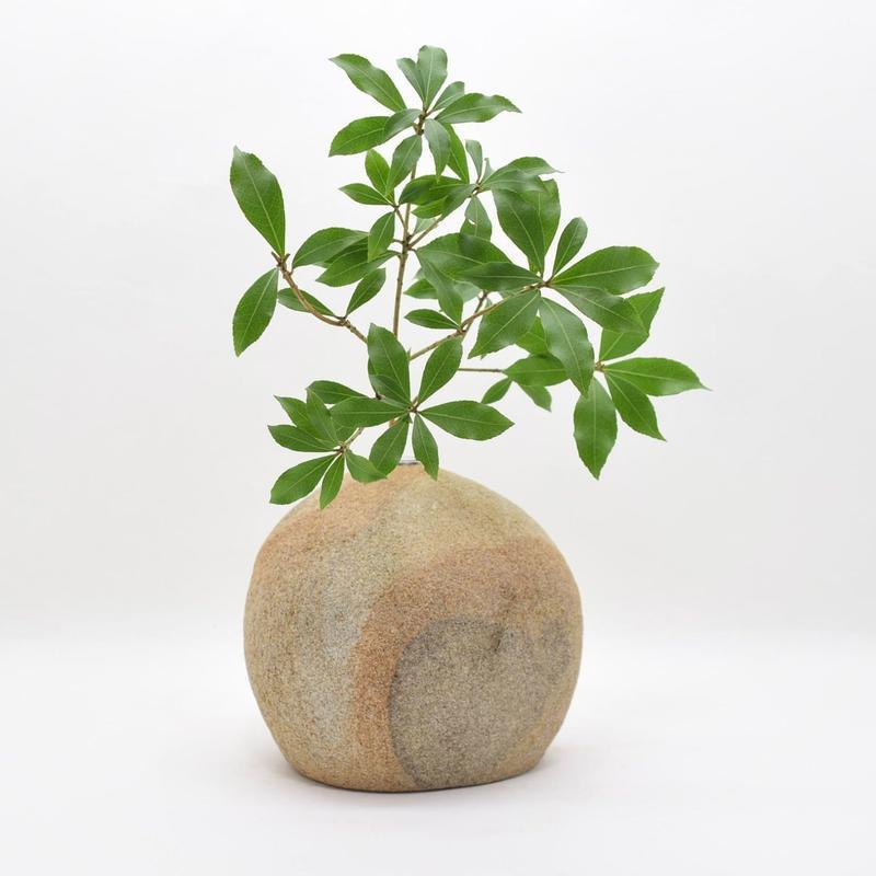 Real Stone Vase 006