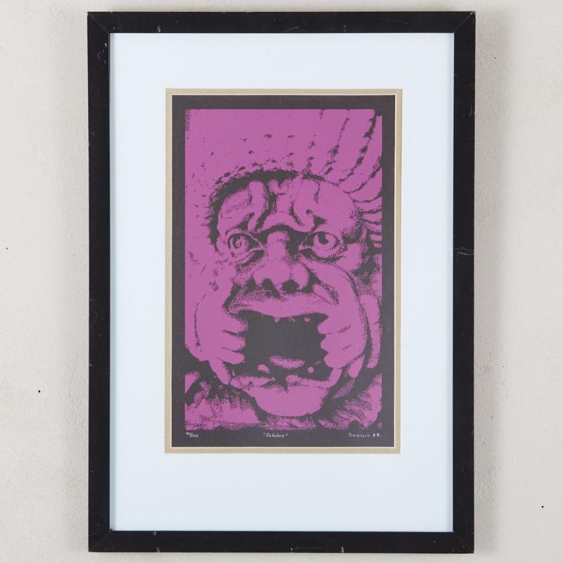 1987 silkscreen art 179
